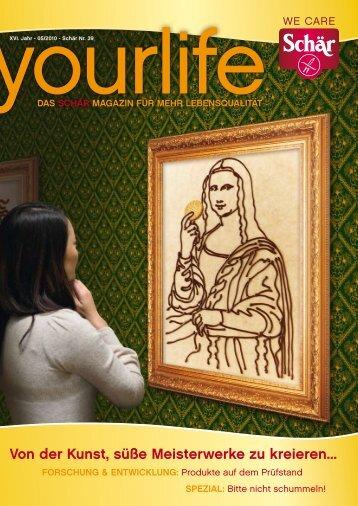Von der Kunst, süße Meisterwerke zu kreieren...
