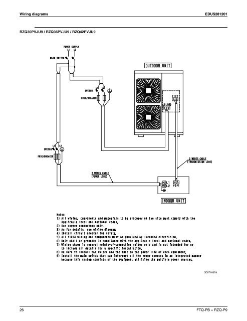 EDUS281201 Wiring diagram on