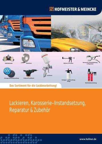 Lackieren, Karosserie-Instandsetzung ... - Hofmeister & Meincke