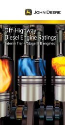 Interim Tier 4/Stage III B Pocket Guide - John Deere