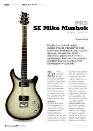 PRS SE Mike Mushok - Magazyn Gitarzysta 02 ... - FX-Music Group