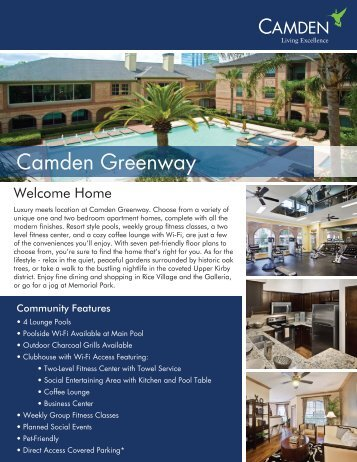 Camden Greenway