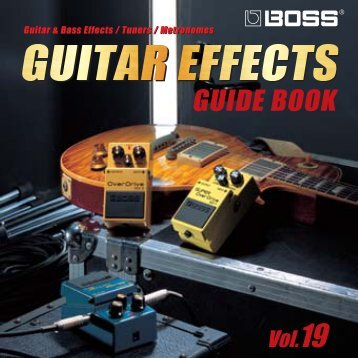 GUITAR EFFECTS -  Roland