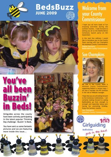 BedsBuzz June 2009 Issue - Bedfordshire Guiding