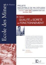 Montage QSF OK.indd - Ecole des mines de Nantes