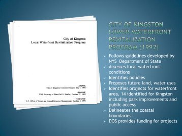 Kingston Initiatives - City of Kingston
