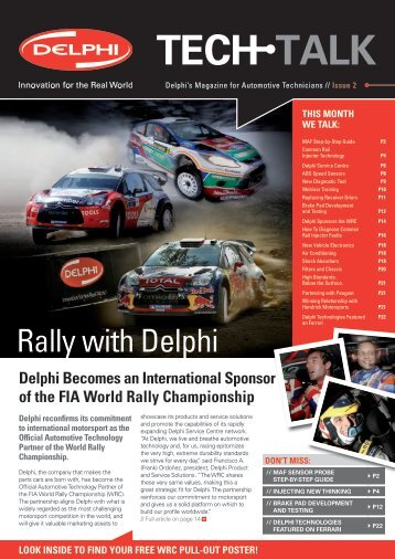 Rally with Delphi - Delphi Aftermarket