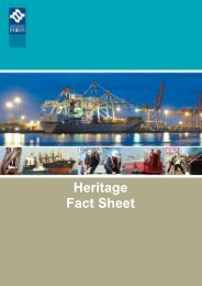 Heritage Fact Sheet - Fremantle Ports