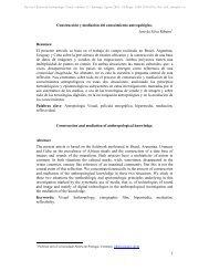 Imprimir - Revista Chilena de Antropología Visual