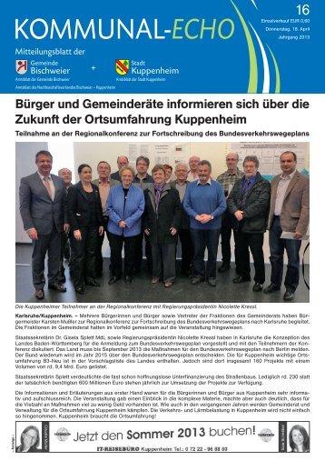 2013-16 - Stadt Kuppenheim