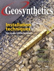 Geosynthetics, August/September 2008, Digital Edition