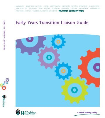 Early Years Transition Liaison Guide - Wiltshire Council