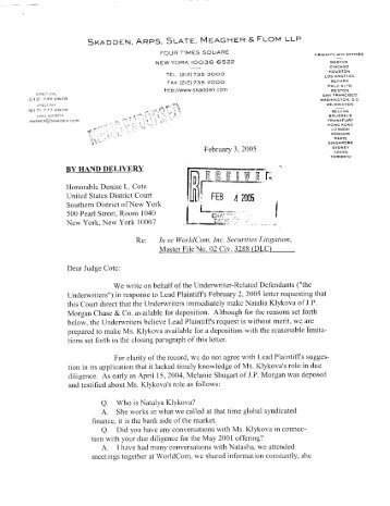 Memo Endorsed Order Requiring the Parties to Meet and Confer