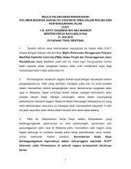 press polymer.pdf - Kementerian Kerja Raya Malaysia