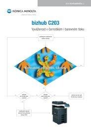 bizhub C203 - MSD