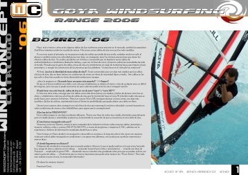 GOYA Boards - VENTO Windsurfbolt ÉRD