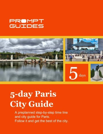 5-day Paris City Guide - Prompt Guides