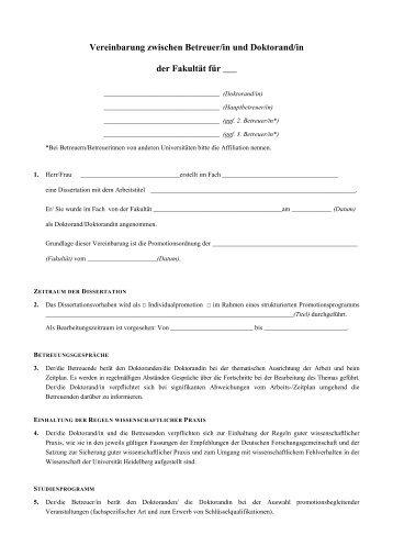 download der muster promotionsvereinbarung pdf - Gutertrennung Muster