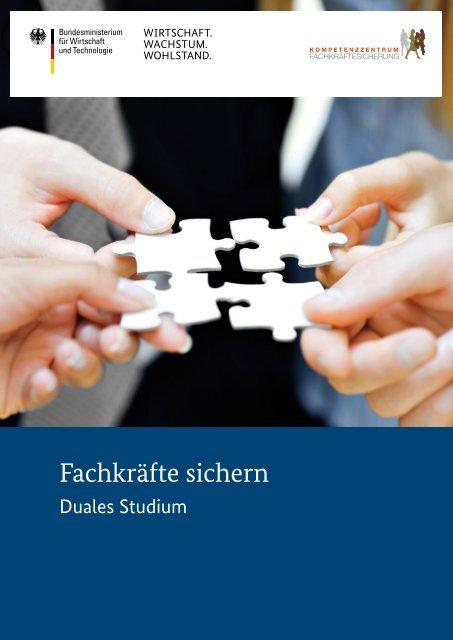 Duales Studium - Kompetenzzentrum Fachkräftesicherung