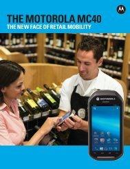 MC40 - Brochures - Motorola Solutions