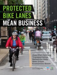 PROTECTED BIKE LANES MEAN BUSINESS