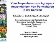 Projekte: KTI 4461.2 Juli 99 – Okt 00 CHF 446'000. - hortikultur.ch