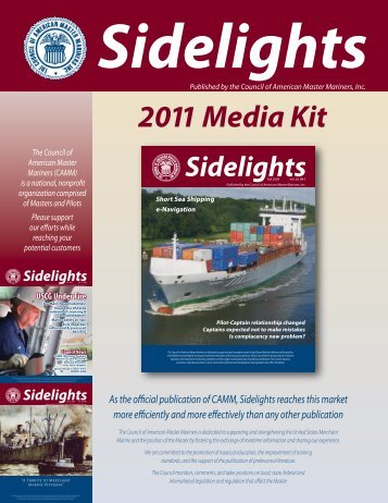 Sidelights - Council of American Master Mariners