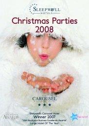 Christmas Parties 2008 - Sleepwell Hotels