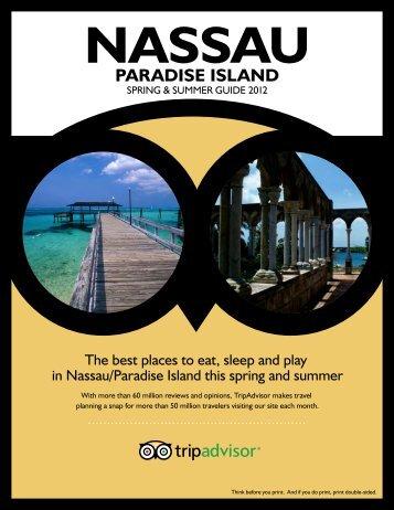 spring & summer guide 2012 - TripAdvisor