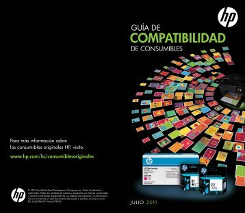 ¿Cuál es el cartucho ideal para tu impresora - Hewlett Packard