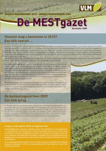 Mestgazet 9 - Vlaamse Landmaatschappij