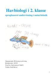 Havbiologi i 2. klasse - Viden om Læsning