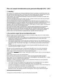 plan van aanpak - gemeente Moerdijk