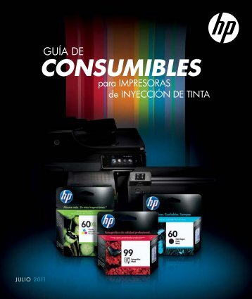 CONSUMIBLES - Hewlett Packard