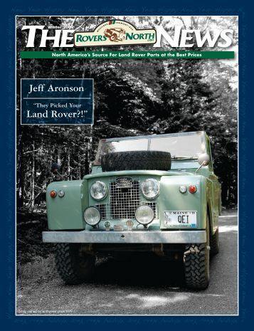 "Land Rover?!"" Jeff Aronson - Rackspace Hosting"