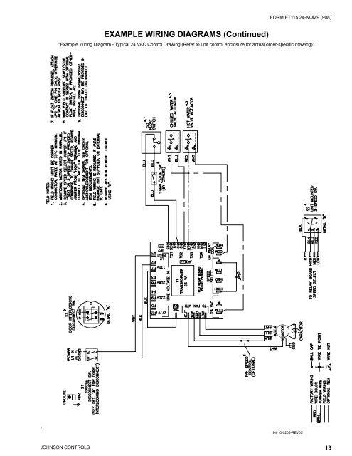 Johnson Control Wiring Diagram