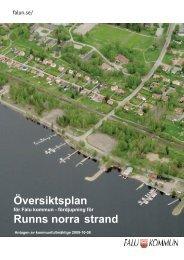 Översiktsplan Runns norra strand - Falu Kommun