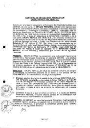 convenio de estabilidad juridica con grupo repsol del peru sa