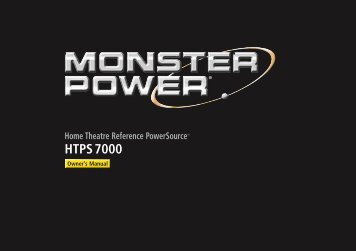 HTPS 7000 PowerSource Manual - Electronic Warehouse