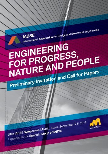 engineering for progress, nature and people - International ...