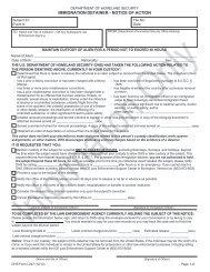 Detainer Form - US Immigration and Customs Enforcement