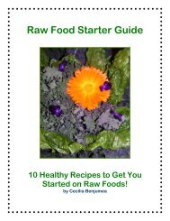 Raw Food Starter Guide (PDF)