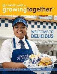 July/August Issue of growingtogether magazine ... - Land O'Lakes Inc.