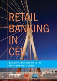 Retail Banking in CEE: Exploiting the Potential of ... - Roland Berger