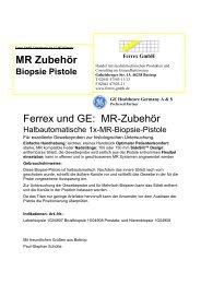 MR Biopsie Flyer 8 2008 Ferrex GE A&S.pdf - Ferrex GmbH