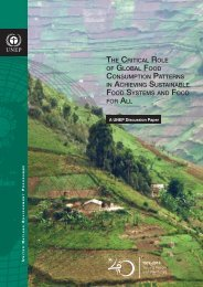 the critical role of global food consumption patterns in achieving ...