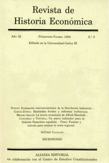 Nº 02 Primavera-Verano 1993 - Universidad Carlos III de Madrid