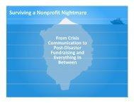 Surviving a Nonprofit Nightmare - Minnesota Council of Nonprofits