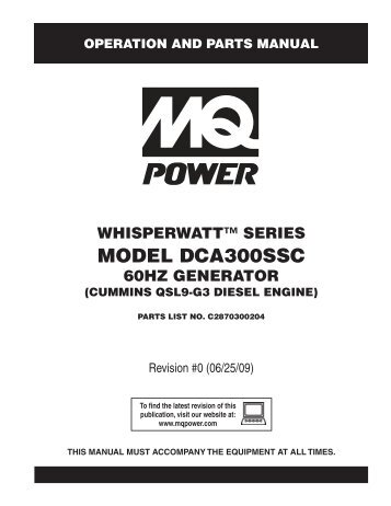 cascade cd101 auto start controller warning hardy diesels rh yumpu com Operation and Maintenance Manual Gilbert Pipeline Operations and Maintenance Manual