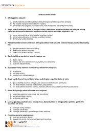 Sutarčių teis s testas 1. Ofertą galima atšaukti - NORCOUS Academia